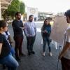 São Paulo, SP — Os jovens se reuniramem grupos para expressar sobre o tema do eventopor meio de desenhos, pinturas e poemas.