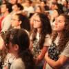 São Paulo, SP — Detalhedo público que acompanha as palavras do Irmão Paiva Netto durante a sessão solene do Fórum na Igreja Ecumênica da Religião do Amor Fraterno.