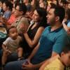 São Paulo, SP — Famílias Legionárias prestigiam Sessão Solene do 44º Fórum Ecumênico do Jovem Ecumênico do Jovem da Boa Vontade de Deus.