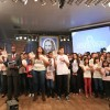 SÃO PAULO, SP —Com a leitura do item XIV da Carta ao Jovem de Boa Vontade, de autoria do Irmão Paiva Netto, os Jovens Legionários pronunciam o Juramento de Fidelidade.