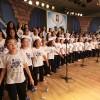 """São Paulo/SP — Aqueça a voz e cante com o Coral Ecumênico Infantojuvenil Boa Vontade: """"Vamos desarmar os corações! / Com Amor, alegria e bondade, / Juntos, bradamos com nossas ações: / 'Paz na Terra aos de Boa Vontade!'""""."""