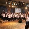 """São Paulo,SP —Aqueça a voz e cante com o Coral Ecumênico Infantojuvenil Boa Vontade: """"Vamos desarmar os corações! / Com Amor, alegria e bondade, / Juntos, bradamos com nossas ações: / 'Paz na Terra aos de Boa Vontade!'""""."""