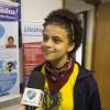 En la okazo, la lernantino de LBV Raissa de Carvalho, 12-jara, lasis siajn komentojn pri la Esperanta Ateliero.