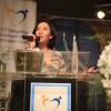 QUINTA-FEIRA, 27— A primeira palestra deste dia começou com a doutora em Linguística e fonoaudióloga Noemi Takiuchi, com o tema