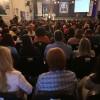 QUINTA-FEIRA, 27 — Público superlota primeiro dia de ciclo de palestras do evento.