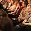 QUINTA-FEIRA, 27 — Público acompanha, com atenção, as palestras dosegundo dia do 17° Congresso Internacional de Educação da LBV.