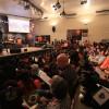 São Paulo/SP — Cristãos do Novo Mandamento de Jesus acompanham as palavras do Irmão Paiva, que comanda a sessão solene do 43º Fórum Internacional do Jovem Ecumênico da Boa Vontade de Deus.