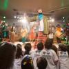 SÃO PAULO, SP — Durante o evento, na capital paulista, as famílias acompanharam a apresentação cultural