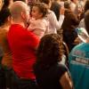 São Paulo, SP — Famílias participam das homenagens ao Dia dos Pais, na Religião de Deus, do Cristo e do Espírito Santo.