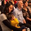 SÃO PAULO, SP — Famílias reunidas durante a Cruzada do Novo Mandamento de Jesus em homenagem ao Anjo da Guarda e às Mães da Terra e do Céu da Terra.