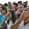 ADAMANTINA, SP — Momento Ecumênico de Oração envolveu todos os presentes.
