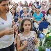 ADAMANTINA, SP — As famílias também participaram da Campanha do Natal Permanente da Religião do Amor Fraterno