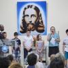 ADAMANTINA, SP — Com muita emoção, as famílias demonstram sua gratidão à Religião de Deus, do Cristo e do Espírito Santo.