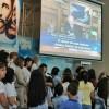 CAMPINAS, SP — Público acompanha as palavras do Irmão Paiva Netto, realizando alinda prece