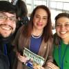 A sra. María Fernanda Espinosa (ao centro), primeira mulher latino-americana presidente da Assembleia Geral da ONU, recebeu uma edição da revista BOA VONTADE Mulher. Ela concedeu, à mesma edição, uma interessante entrevista sobre equidade de gênero. LEIA AQUI.