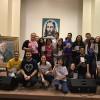 Brasília, DF — Juventude e pré juventudefazem roda de estudos dos livros do escritor Paiva Netto, no Auditório Tom Jobim, no ParlaMundi da LBV.