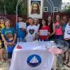 New Jersey, Estados Unidos — Comunidade Legionária participa de ações do 44º Fórum da Juventude Legionária.