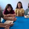 Araruama, RJ — Naabertura do 42º Fórum Internacional do Jovem Ecumênico da Boa Vontade de Deus, jovens de todas as idades buscam inspiração na prece para mais uma atividade. :)