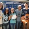 UBERLÂNDIA, MG — Jovens Legionários como certificado de participação do Festival Internacional de Música, da LBV.