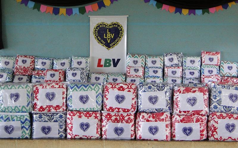 Itapeva, SP— Vista geral dos cobertores da Campanha