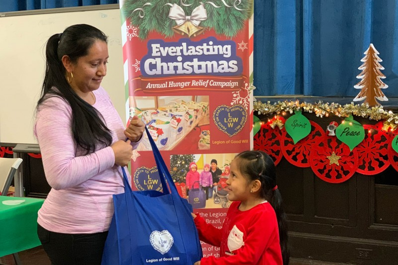 Christmas Everlasting.Hunger Relief Campaign 2018 Lgw Legion Of Good Will