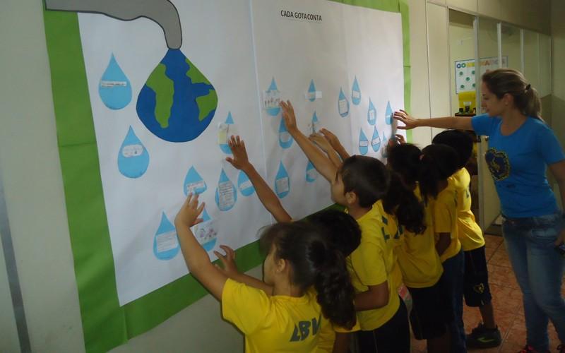 Quer cuidar do planeta terra fa a como as crian as da lbv for Mural sobre o meio ambiente