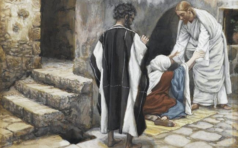 "Peter's Mother-in-law and Many Others Healed (The Gospel according to Matthew 8:14-17). When Jesus entered Peter's house, He came to know about the health problem of his mother-in-law and He healed her. After that, something even more impressing occurred: ""she got up and began to wait on Him"" (8:15). In a scenario in which women could not serve at table, she waited on them and took part in a meeting with the Master. Can you imagine her joy because of the respect He had for her?"