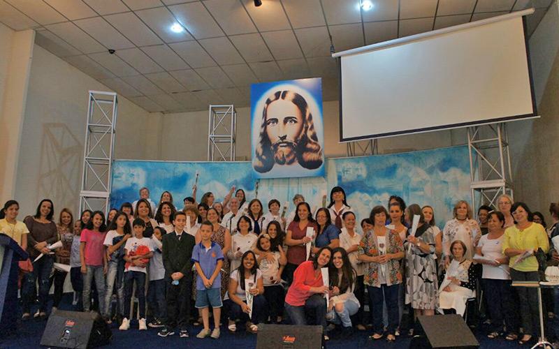 CAMPINAS, SP — Na foto, estão presentes as homenageadas deste dia tão feliz.